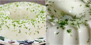 Pudim de limão de geladeira