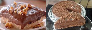 Receita de torta de nutella