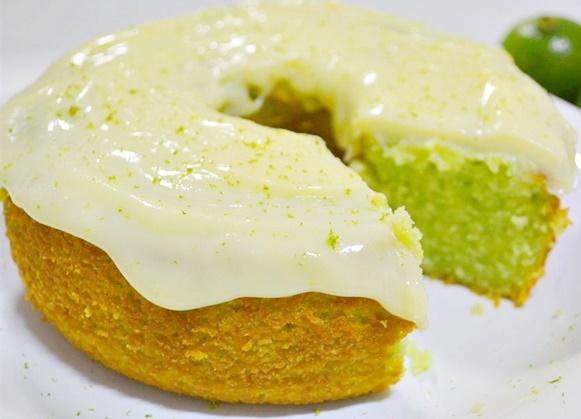 Receita para um bolo de limão fofinho
