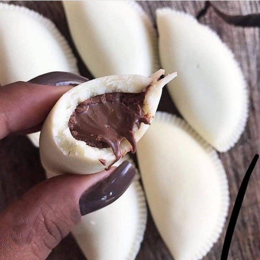 Pastel de leite ninho