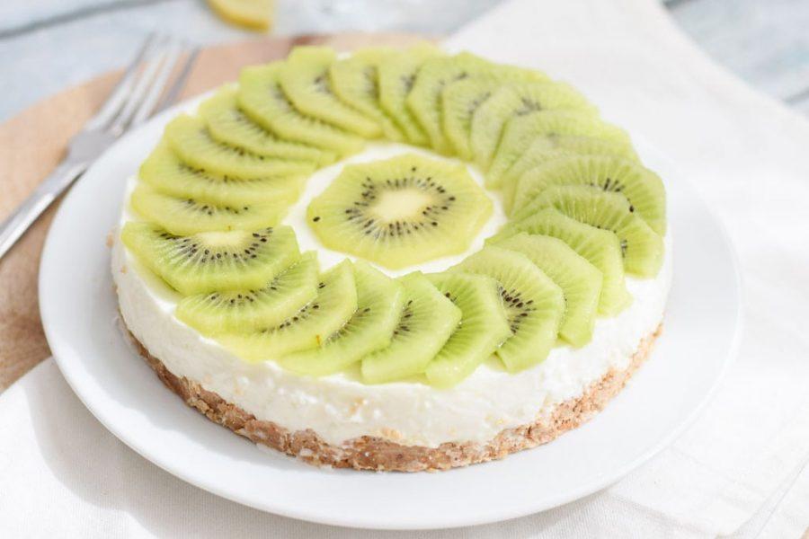 Cheesecake de kwi