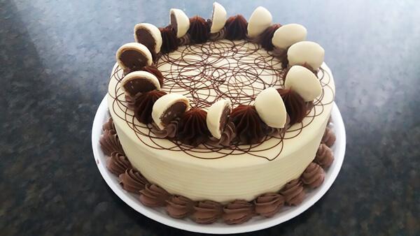Torta ouro branco
